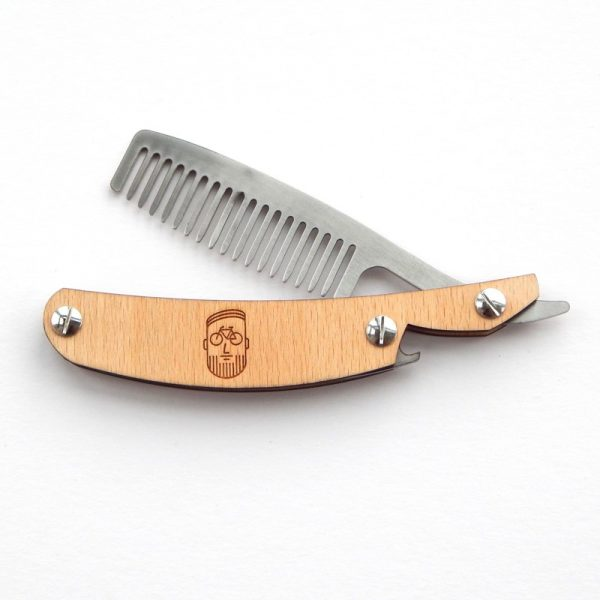 Beards & bicycle cut throat razor comb
