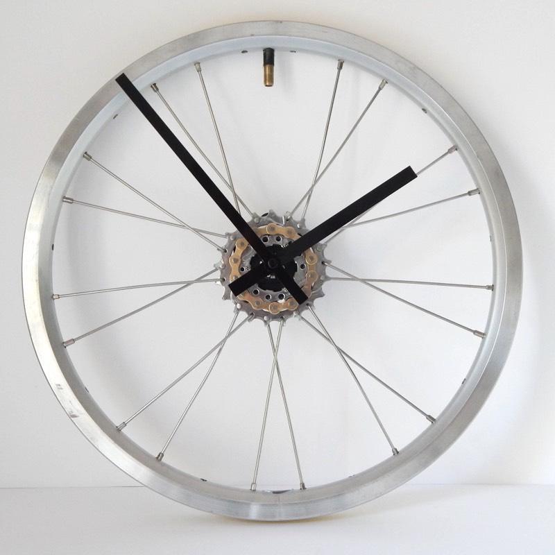 Brompton Bicycle Wheel Wall Clock