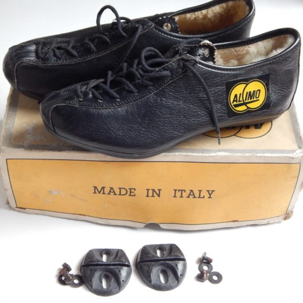 Vintage Leather cycling shoes eroica