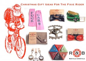 Fixed gear christmas gifts