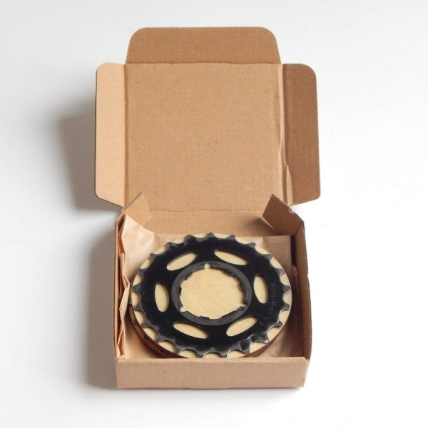 bicycle inner tube and cog coaster set