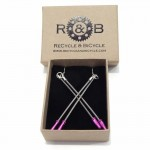 Recycled Brake cable Earrings