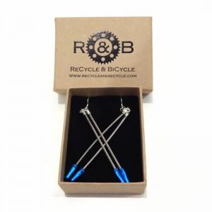 Bike Brake Cables earrings
