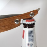 Cut Throat Comb Bottle Opener