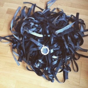 Inner tube medal ribbons