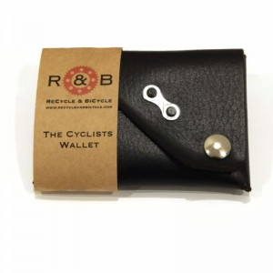 Cyclists Wallet Chain Link Black