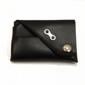 Chain Link Wallet Black