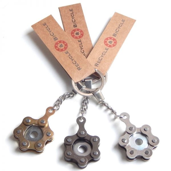 bike chain keyring