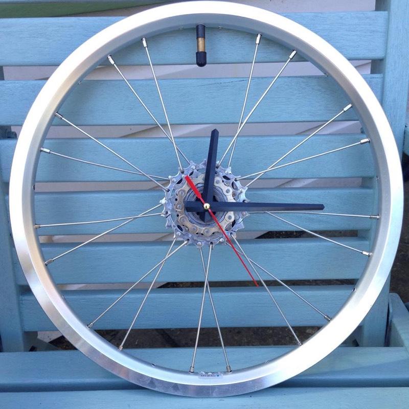 Brompton Wheel Clock