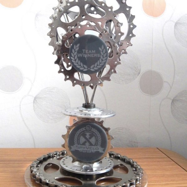 Recycled Cycling Trophy