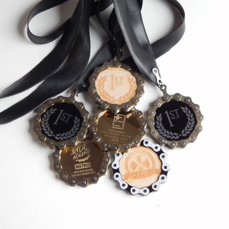 custom & bespoke cycling medals