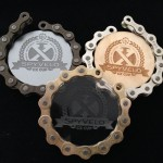 Recycled Cycling Medals
