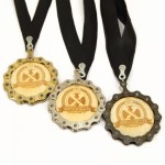 Recycle And Bicycle Medals