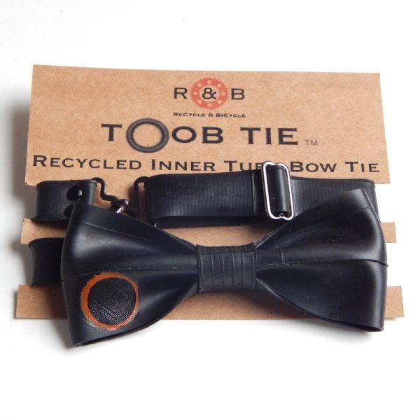 cool inner tube bow tie