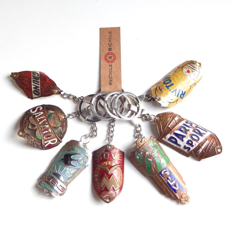 Vintage Headbadge Keyrings