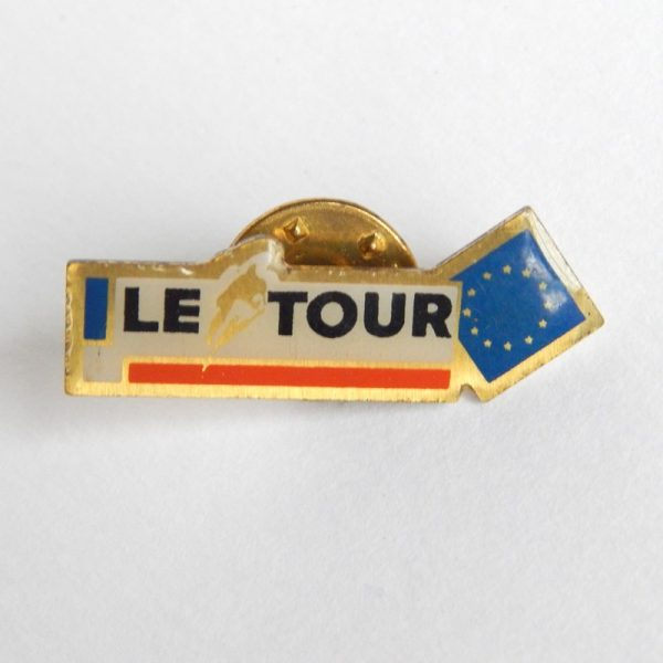 retro cycling badge