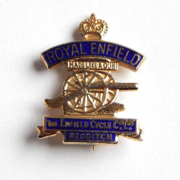 Vintage bicycle pin badge