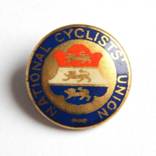vintage cycling badge