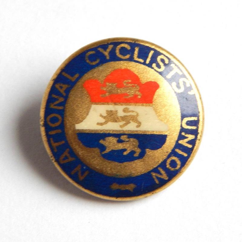 vintage cycling badge