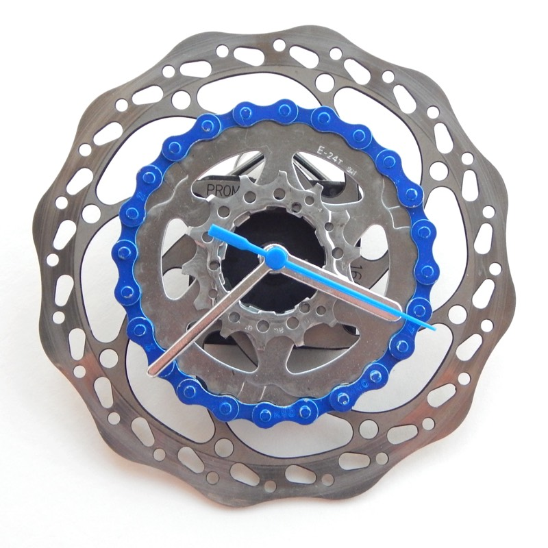 Recycled Bike Bicycle Wall Clock Recycle Amp Bicycle