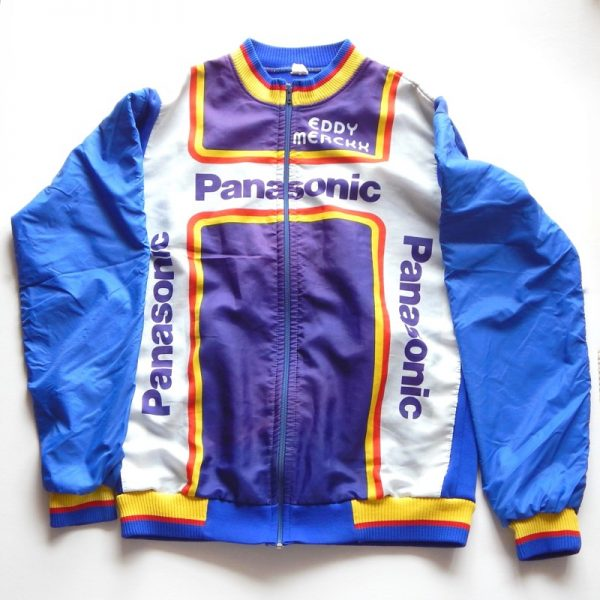 Team panasonic vintage jacket