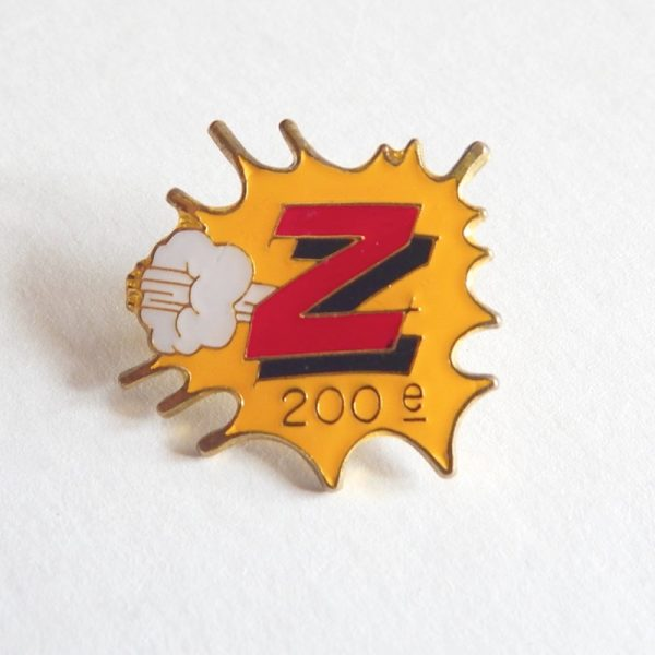 retro team z badge