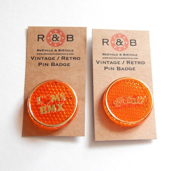 retro BMX badges