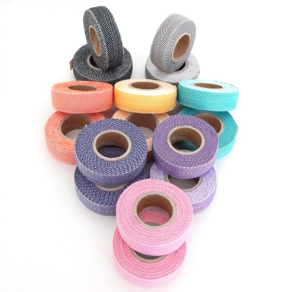 Vintage style cloth handle bar tape