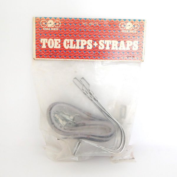 retro toe clips and straps