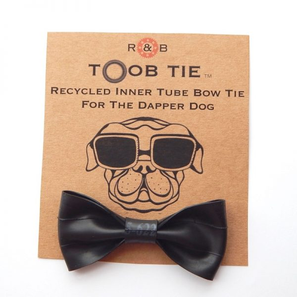 inner tube dog bow tie