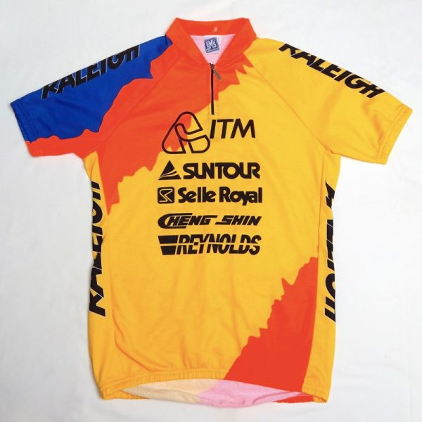 Retro Raleigh Team Cycling Jersey 38″-40″  SOLD . £28.00 · toshiba la vie  claire jersey 92302849b