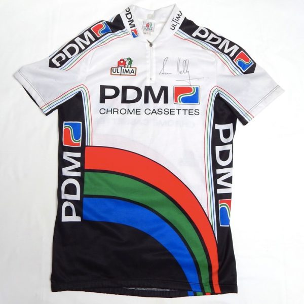 sean kelly signed pdm jersey