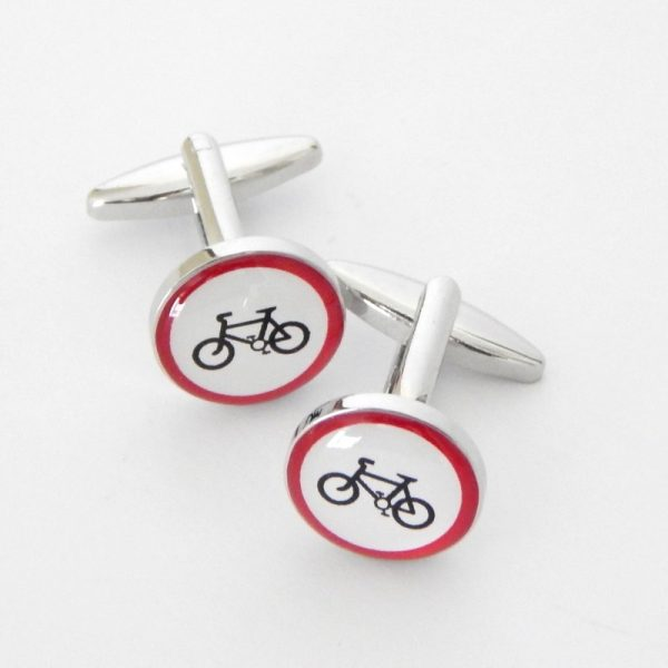 no cycling cufflinks