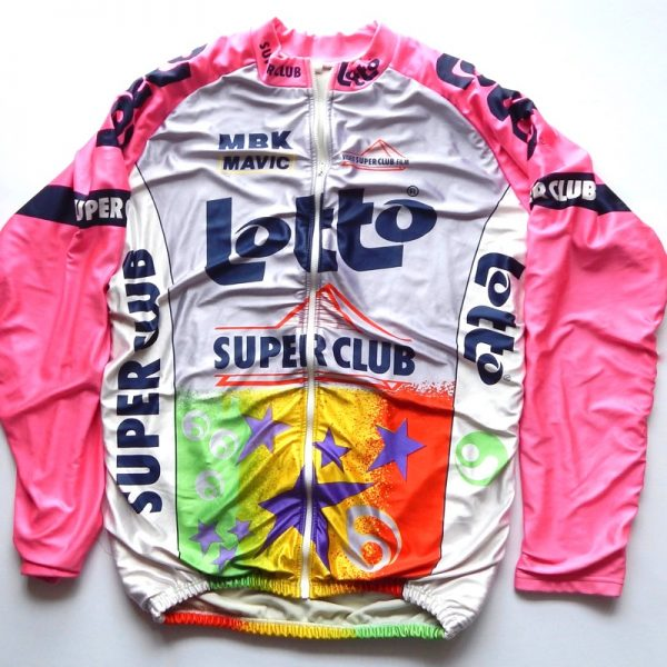 vintage lotto cycling jacket