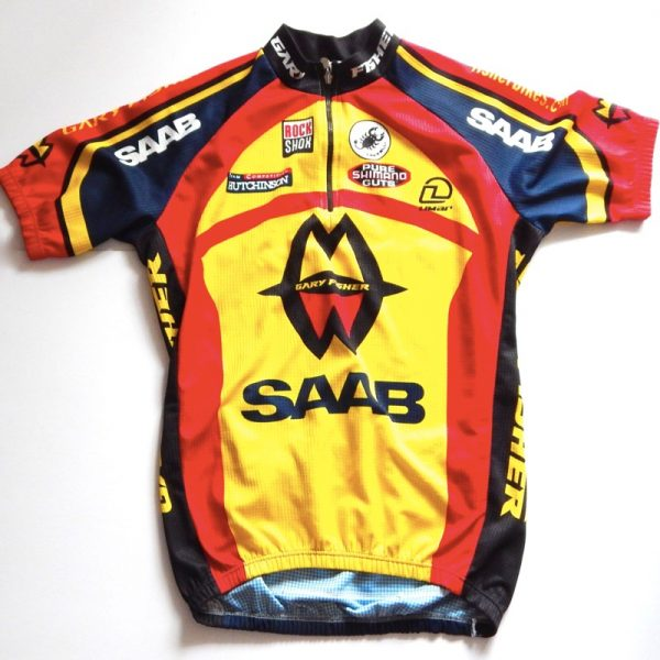 gary fisher saab cycling jersey