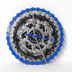 Recycled Bicycle Cassette Wall Clock