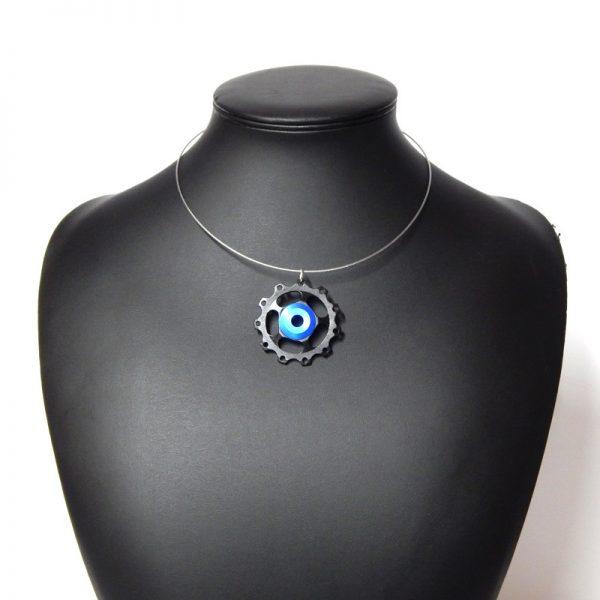 jockey wheel necklace