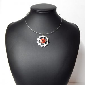 jockey wheel necklace