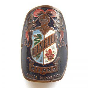 vintage cinelli head badge