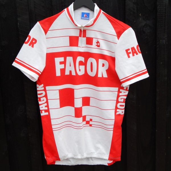 vintage fagor cycling jersey