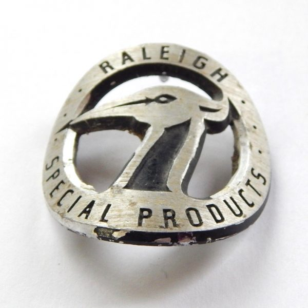 Raleigh special products head badge