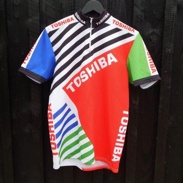 toshiba cycling jersey
