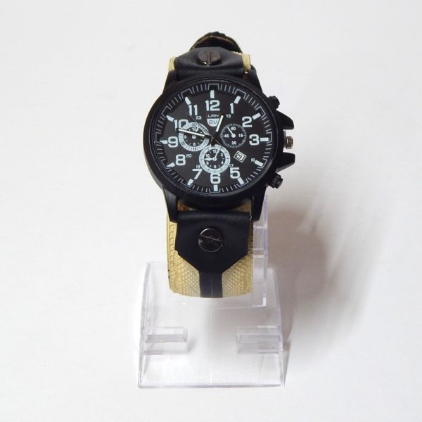 upcycled bicycle tyre watch strap