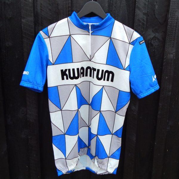 vintage kwantum cycling jersey