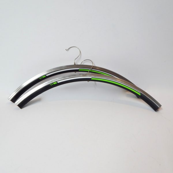 recycled bicycle coat hanger
