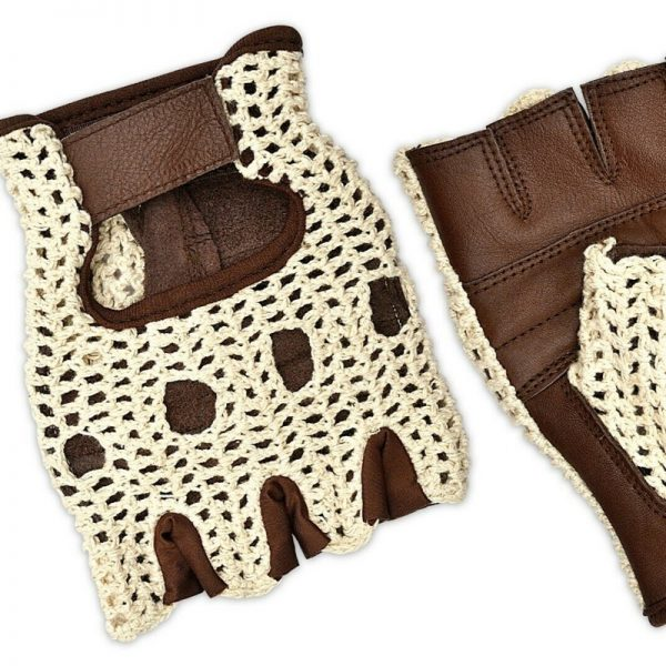 retro style cycling mitts