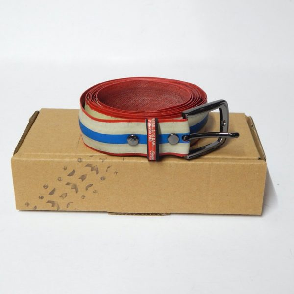 upcycled bicycle tyre belt