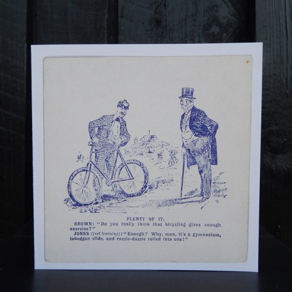 cycling greetings cards